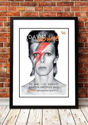 David Bowie 'Berlin Exhibition' Poster 2014
