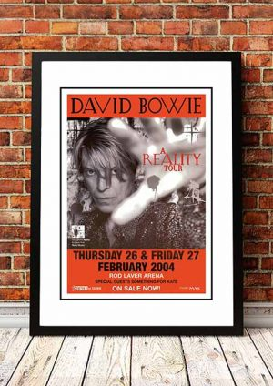 David Bowie 'A Reality Tour' Melbourne, Australia 2004