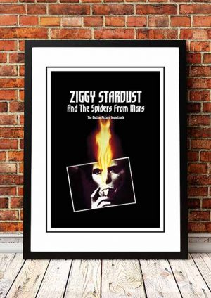 David Bowie 'Ziggy Stardust' In Store Poster 1984
