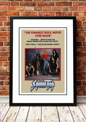 Spinal Tap 'In Store Poster' 1984