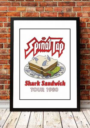 Spinal Tap 'Shark Sandwich' Tour 1980