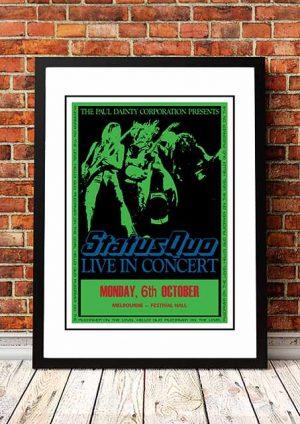 Status Quo 'Australian Tour' 1975