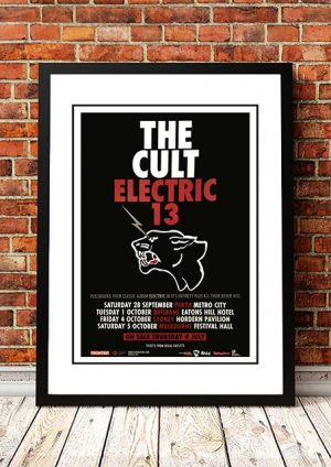 The Cult 'Electric' Australian Tour 2013