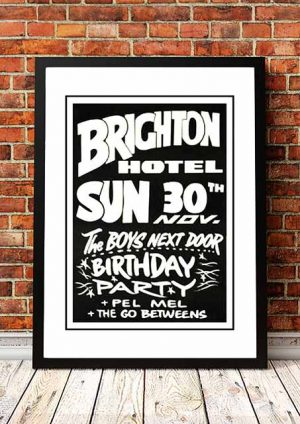 Boys Next Door 'Brighton Hotel' Sydney, Australia 1979