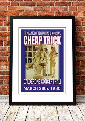 Cheap Trick 'Calderone Concert Hall' New York, USA 1980