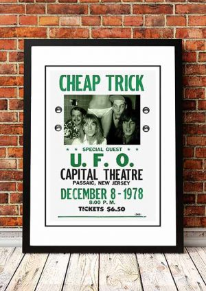 Cheap Trick 'Capital Theatre' New Jersey, USA 1978