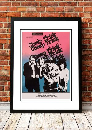 Cheap Trick 'Simpson College' Indianola, USA 1982