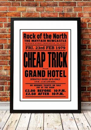Cheap Trick 'The Mayfair' Newcastle, UK 1979