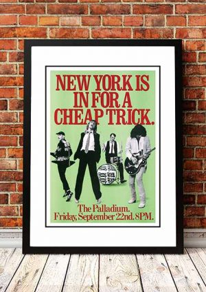 Cheap Trick 'The Palladium' New York, USA 1978