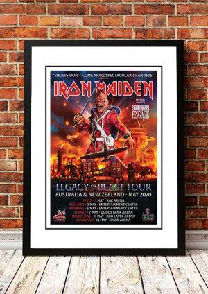 Iron Maiden 'Legacy Of The Beast' Australian Tour 2020
