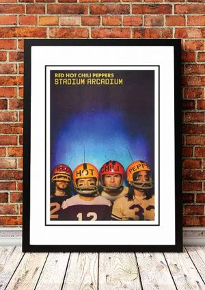 Red Hot Chili Peppers 'Stadium Arcadium' In Store Poster 2006