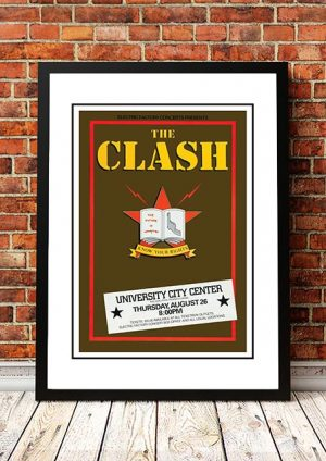 The Clash 'University City Centre' Philadelphia, USA 1982