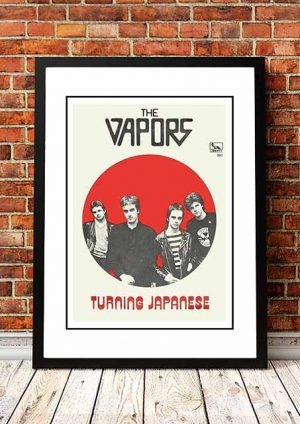 The Vapors 'Turning Japanese' In Store Poster 1980