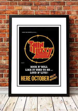 Thin Lizzy 'Australian Tour' 1978