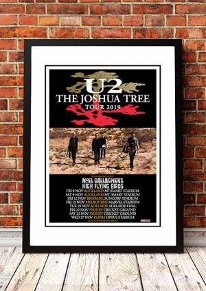 U2 'Joshua Tree' Australian Tour 2019