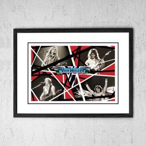 Van Halen 'In Store' Promo Poster 1984