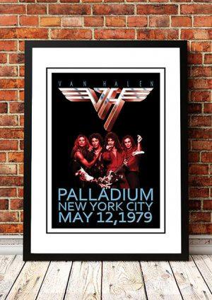 Van Halen 'The Paladium' New York, USA 1979