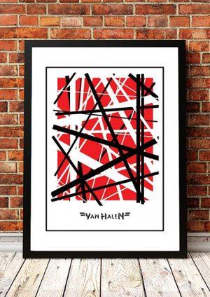 Van Halen 'Panama' In Store Poster 1984