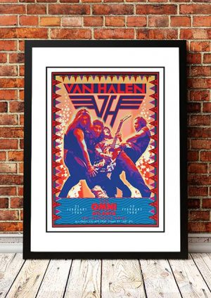 Van Halen 'The Omni' Atlanta, USA 1984