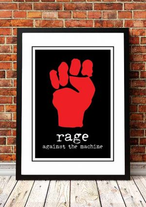 Rage Against The Machine 'In Store' Promo Poster