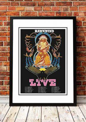 Hawkwind 'UK Tour' 1986