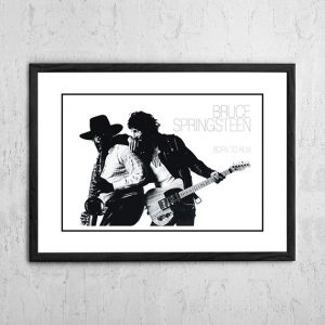 Bruce Springsteen 'Born To Run' In Store Poster 1975
