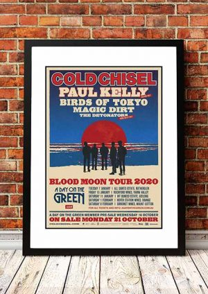 Cold Chisel 'Blood Moon' Australian Tour 2020