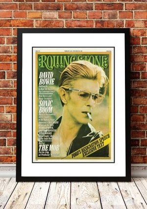 David Bowie 'Rolling Stone Magazine Cover' Poster 1976
