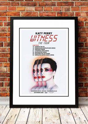 Katy Perry 'Witness' UK Tour 2018