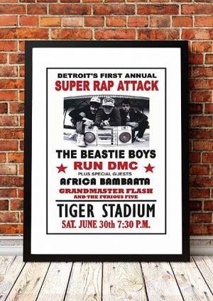 Beastie Boys / Run DMC 'Tiger Stadium' Detroit, USA 2013