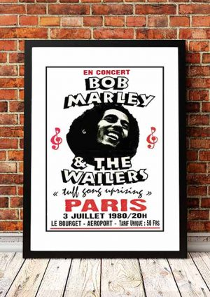 Bob Marley 'Le Bourget-Aeroport' Paris, France 1980