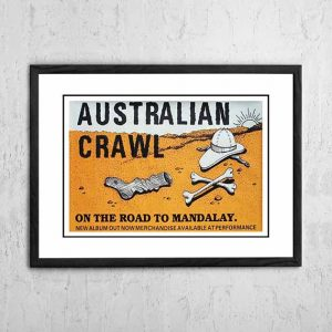 Australian Crawl 'On The Road To Mandalay' Australian Tour 1980