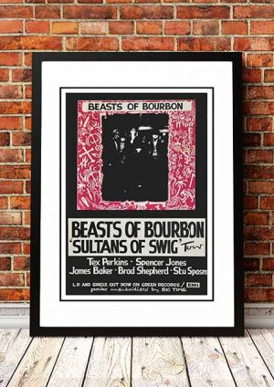 Beasts Of Bourbon 'Sultans Of Swig' Australian Tour 1986