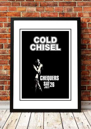 Cold Chisel 'Chequers' Sydney, Australia 1980