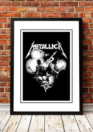 Metallica 'Promotional In Store Poster' V2