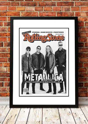 Metallica 'Rolling Stone Magazine' Promo Poster 2017