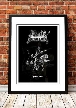 Metallica 'Since 1981' In Store Promo Poster