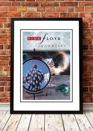 Pink Floyd 'Delicate Sound Of Thunder' In Store Poster 1988