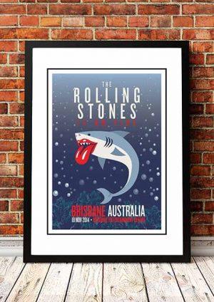 The Rolling Stones (Shark) Brisbane, Australia 2014