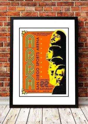 ABBA 'Sports Arena' San Diego, USA 1979