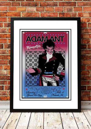 Adam Ant / The Romantics 'Grand Ole Opry' Nashville, USA 1984