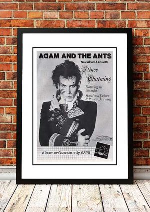 Adam And The Ants 'Prince Charming' Press Ad 1981