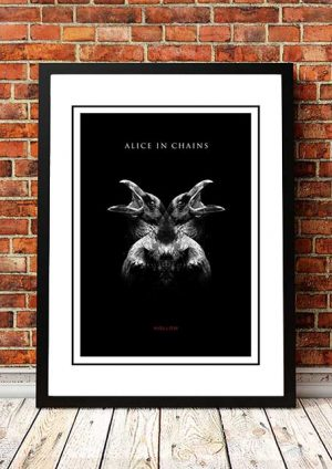 Alice In Chains 'Hollow' In Store Poster 2013