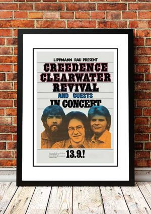 Creedence Clearwater Revival 'Frankfurt' Germany 1971