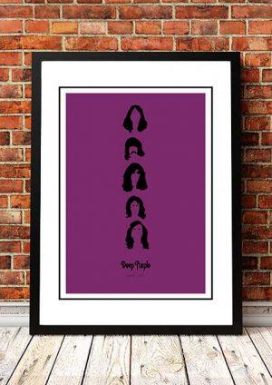 Deep Purple 'Art' Poster