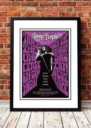 Deep Purple 'Smoke On The Nation' Canadian Tour 2012