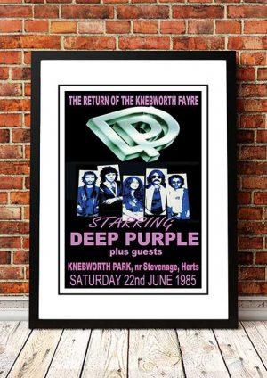 Deep Purple 'Knebworth' Hertfordshire, UK 1985