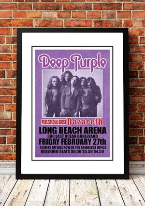Deep Purple 'Long Beach Arena' California, USA 1976