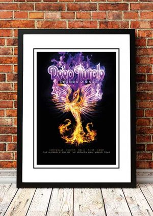 Deep Purple 'Phoenix Rising' In Store Poster 2011