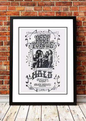 Deep Purple 'Salem Armoury' Salem, USA 1969